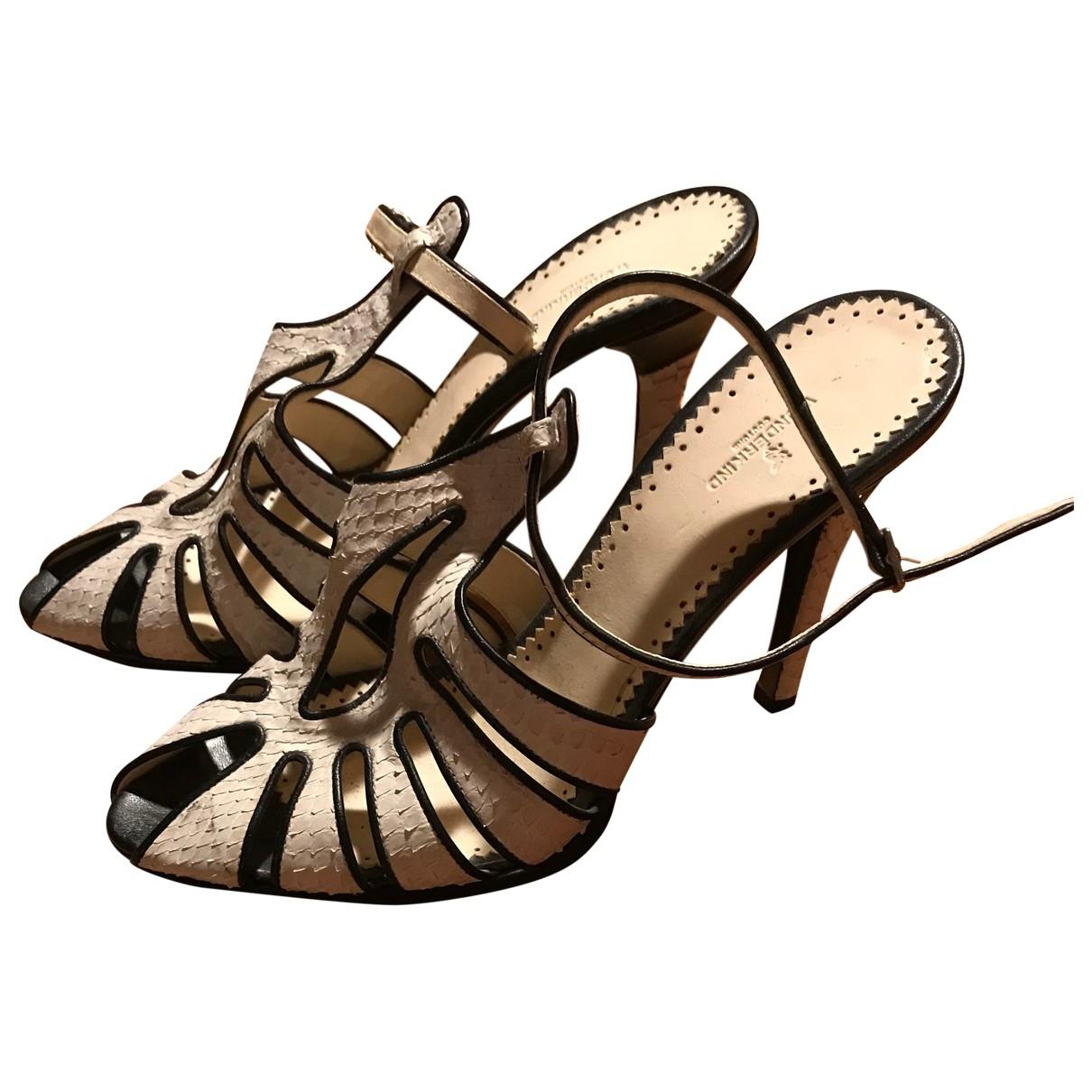 Sandalias de Cuero Wunderkind