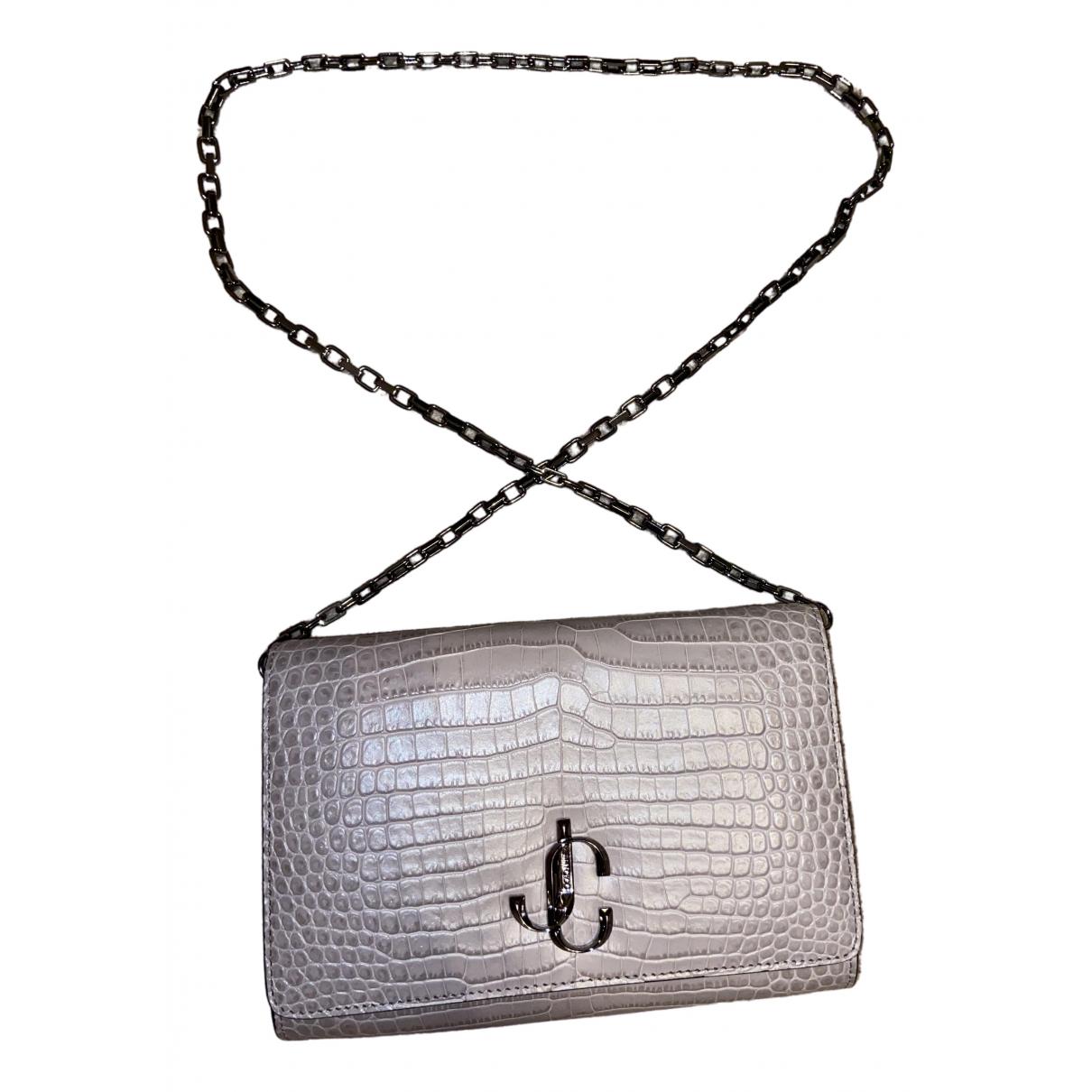 Jimmy Choo Varenne Beige Leather handbag for Women \N