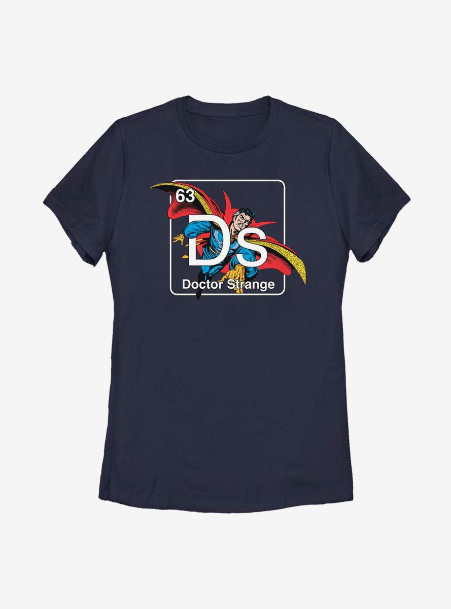 Marvel Doctor Strange Periodic Doctor Strange Womens T-Shirt