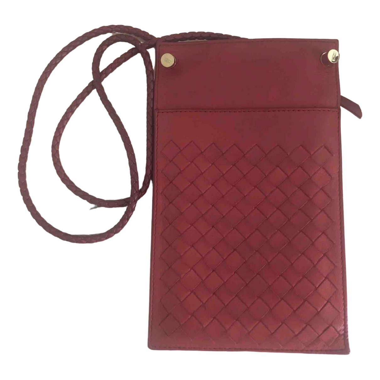 Bottega Veneta \N Red Leather Clutch bag for Women \N