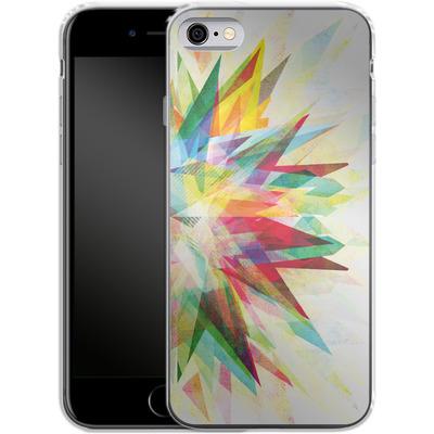 Apple iPhone 6 Silikon Handyhuelle - Colorful 6 von Mareike Bohmer