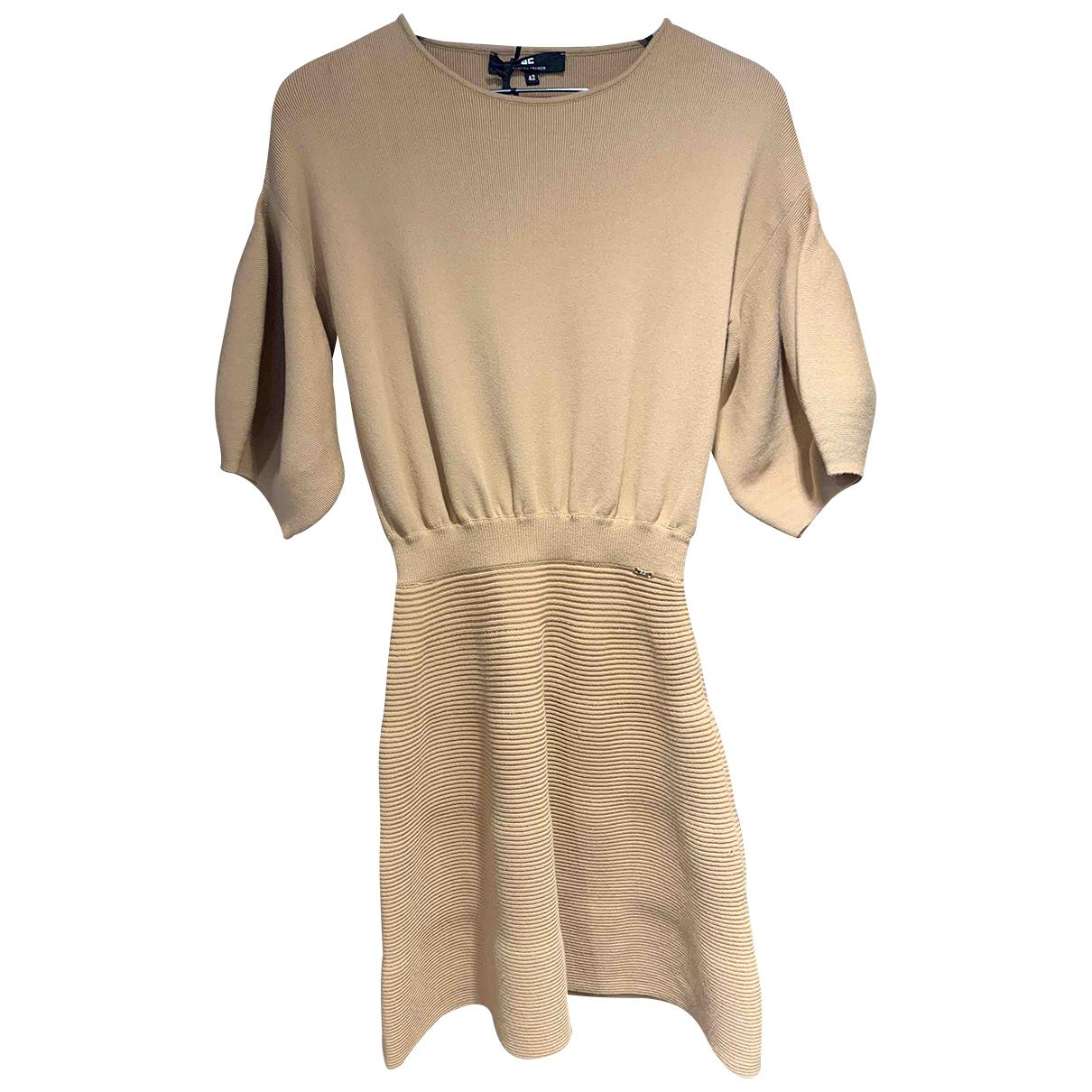 Elisabetta Franchi - Robe   pour femme - camel