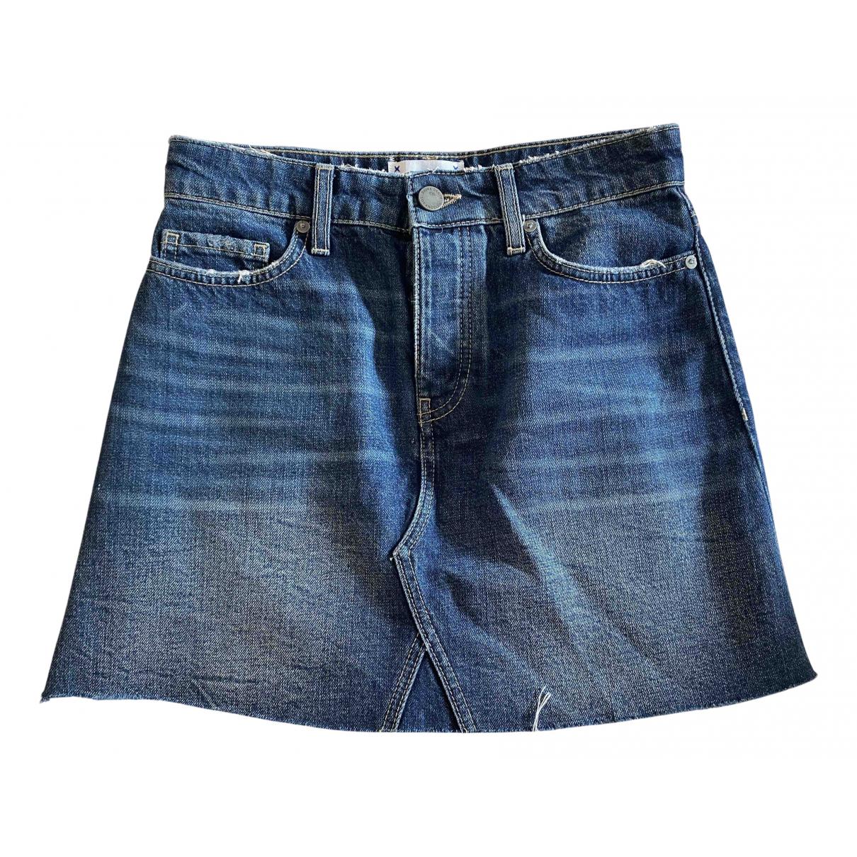Paige Jeans N Blue Denim - Jeans skirt for Women 8 UK