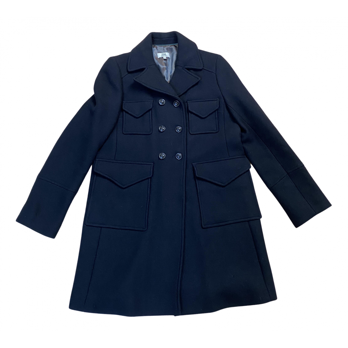 Pablo N Black Wool coat for Women 42 FR