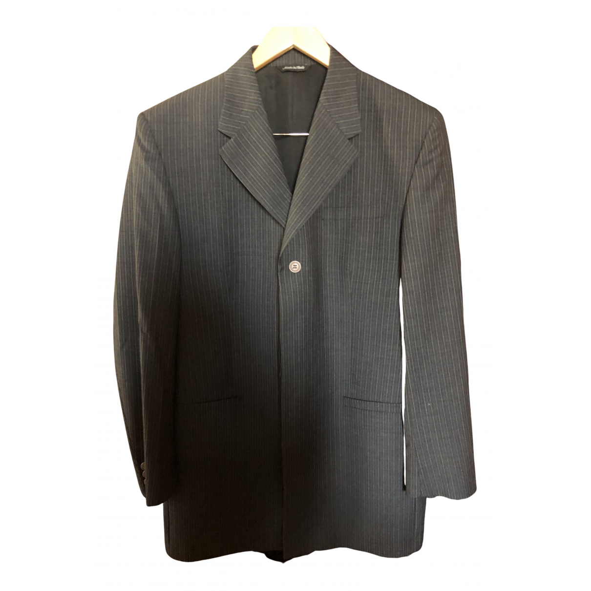 Versus N Black Wool jacket  for Men 52 IT