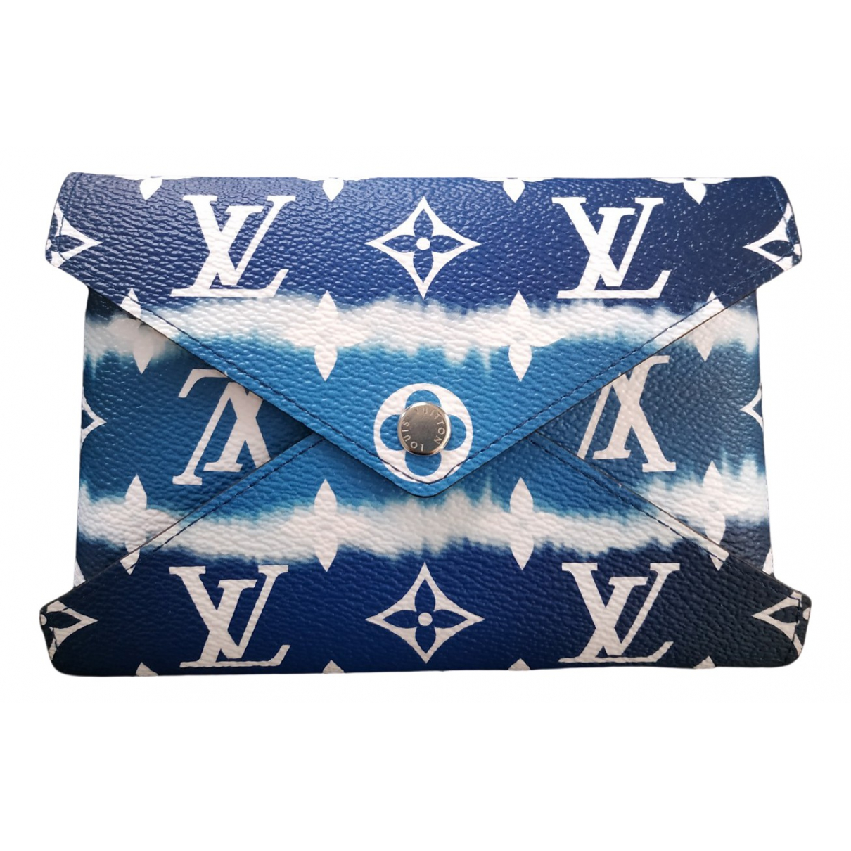 Louis Vuitton Kirigami Kleinlederwaren in  Blau Leinen