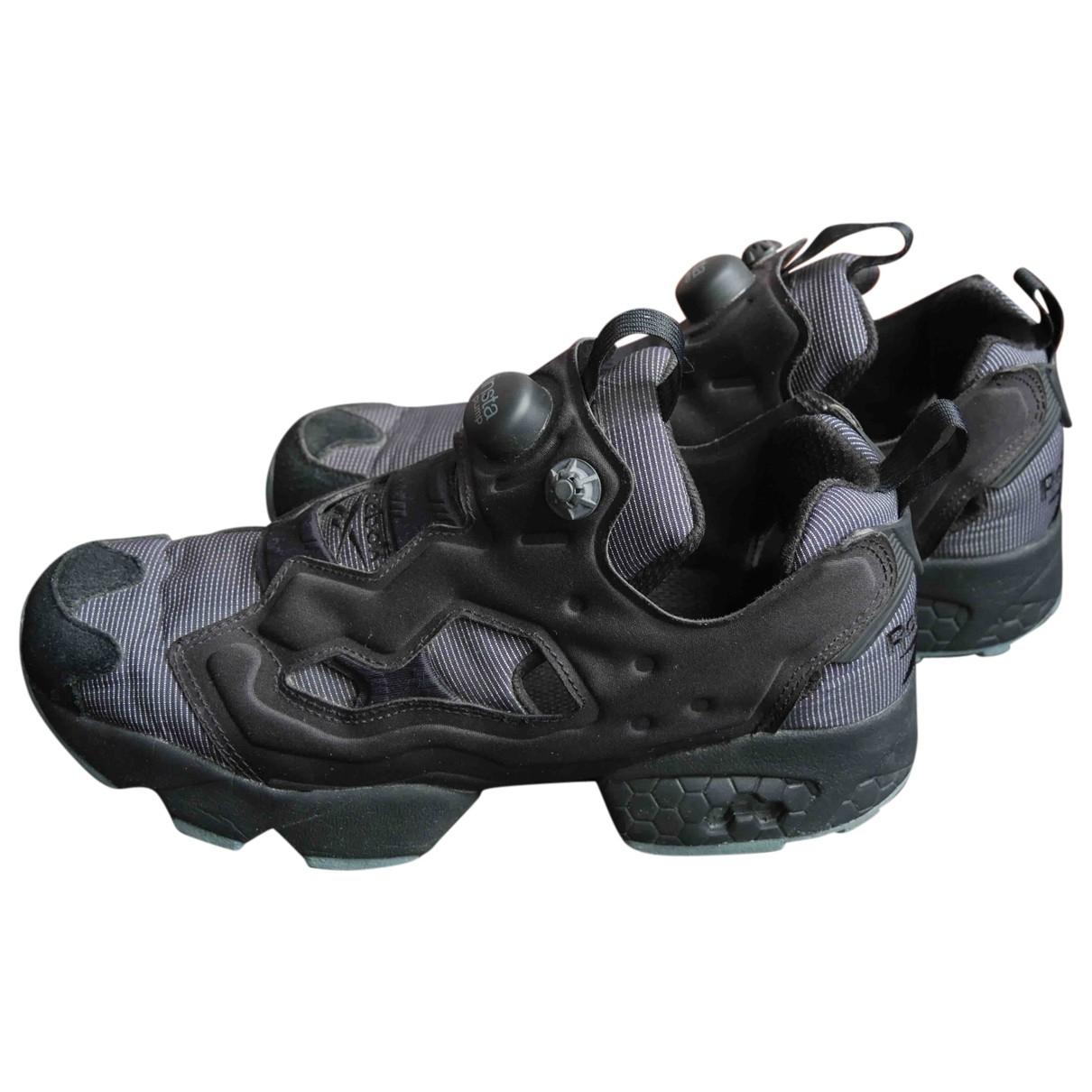 Reebok \N Sneakers in  Schwarz Polyester
