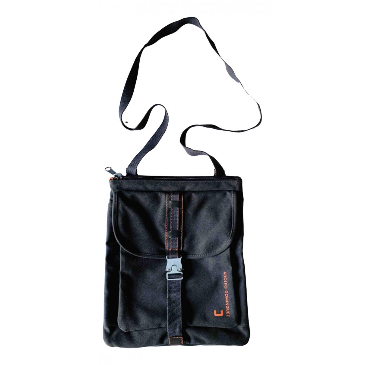 Adolfo Dominguez \N Handtasche in  Braun Leinen