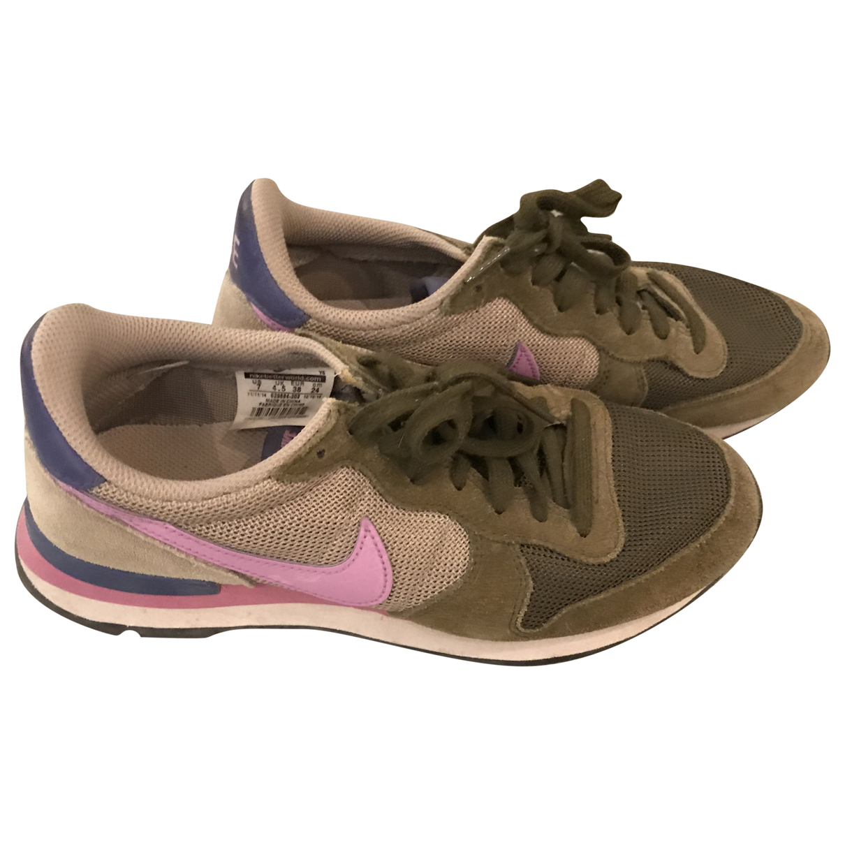 Nike Internationalist Multicolour Cloth Trainers for Women 38 EU
