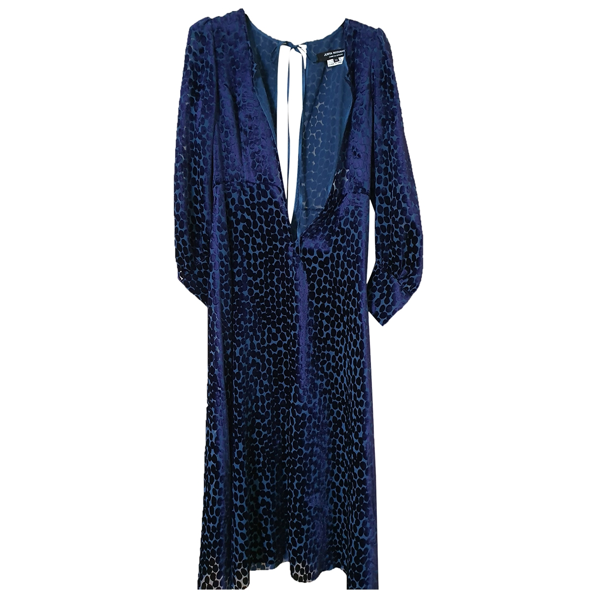 Junya Watanabe \N Kleid in  Blau Polyester