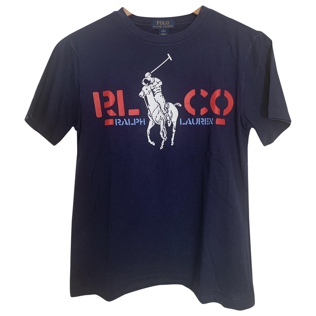 Polo Ralph Lauren \N Blue Cotton  top for Kids 12 years - XS FR