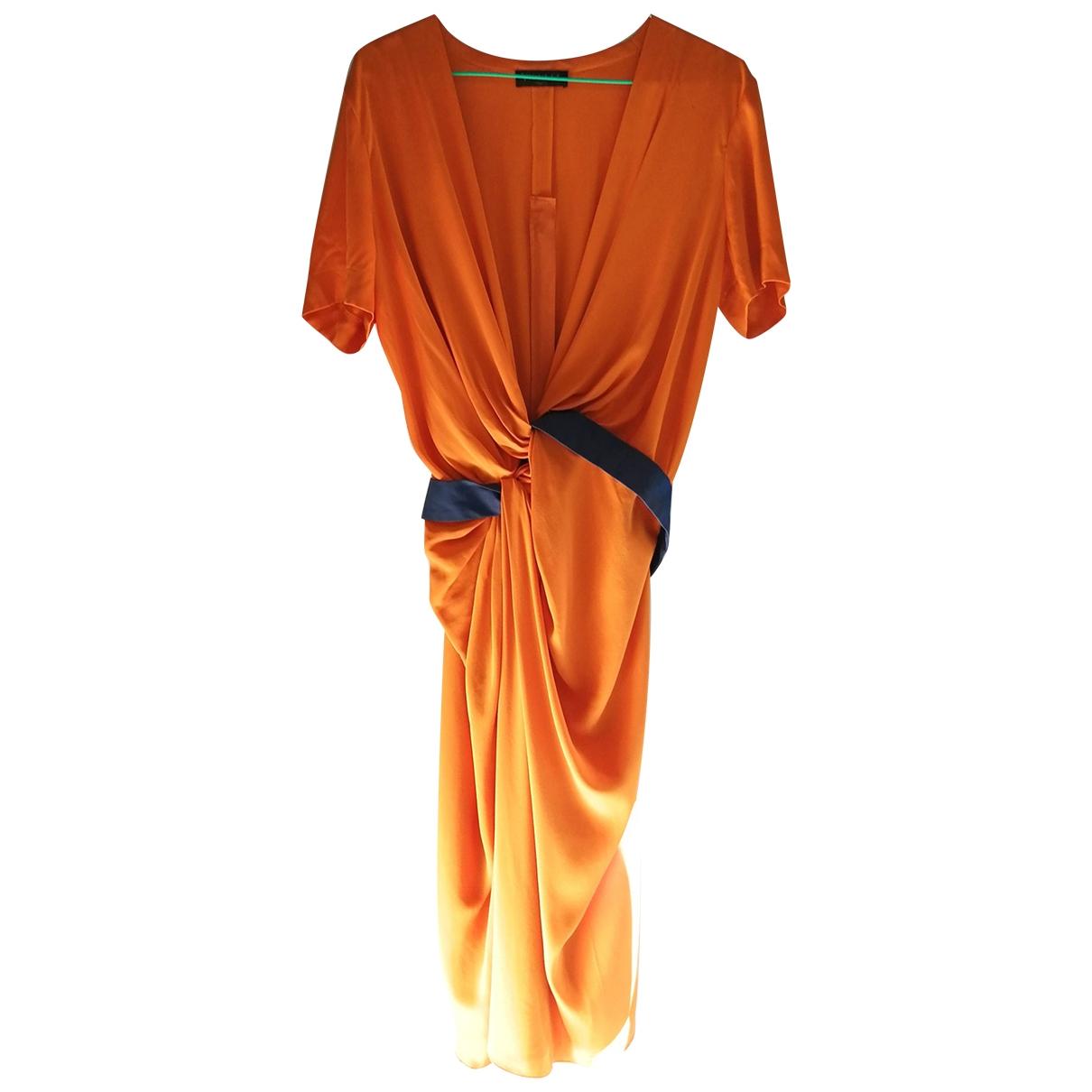 Vestido midi de Seda Vionnet