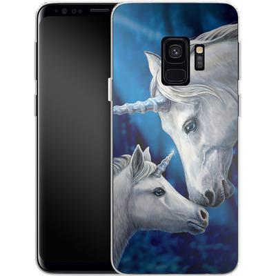 Samsung Galaxy S9 Silikon Handyhuelle - Sacred Love von Lisa Parker