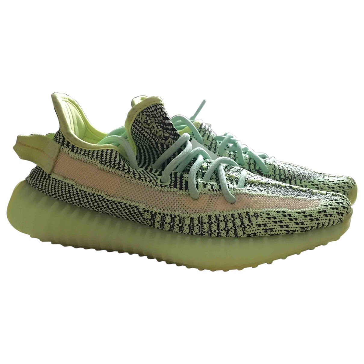 Yeezy X Adidas Boost 350 V2 Yellow Cloth Trainers for Women 38.5 EU