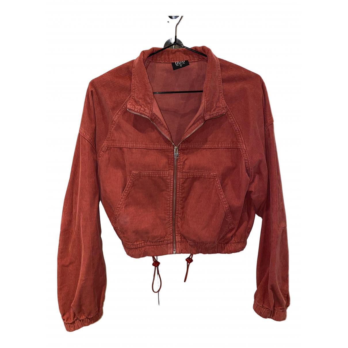Urban Outfitters N Orange Cotton jacket for Women S International