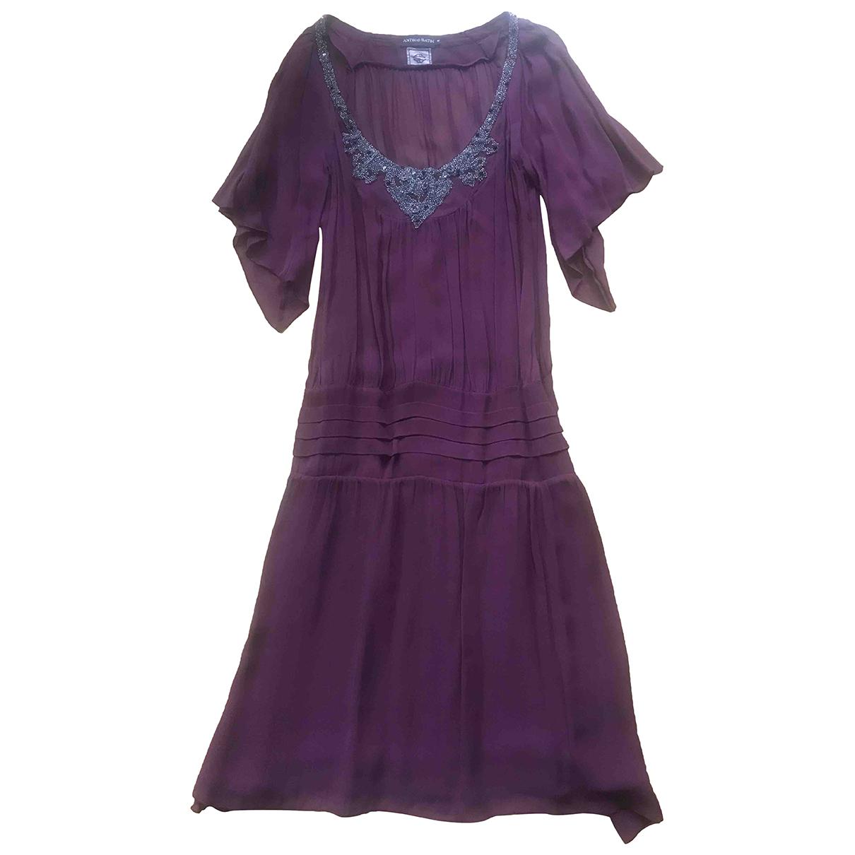 Antik Batik - Robe   pour femme - violet