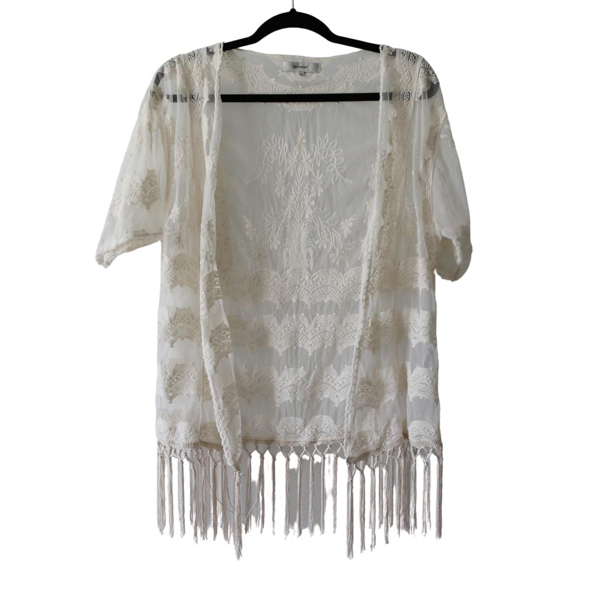 Camiseta Hippie Chic de Encaje Non Signe / Unsigned