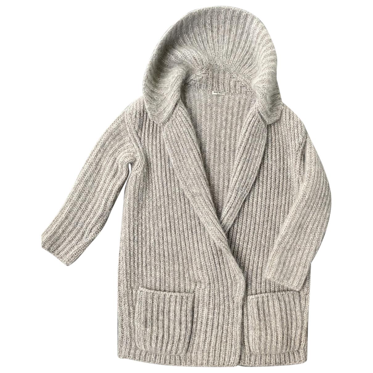Miu Miu \N Pullover in  Beige Wolle