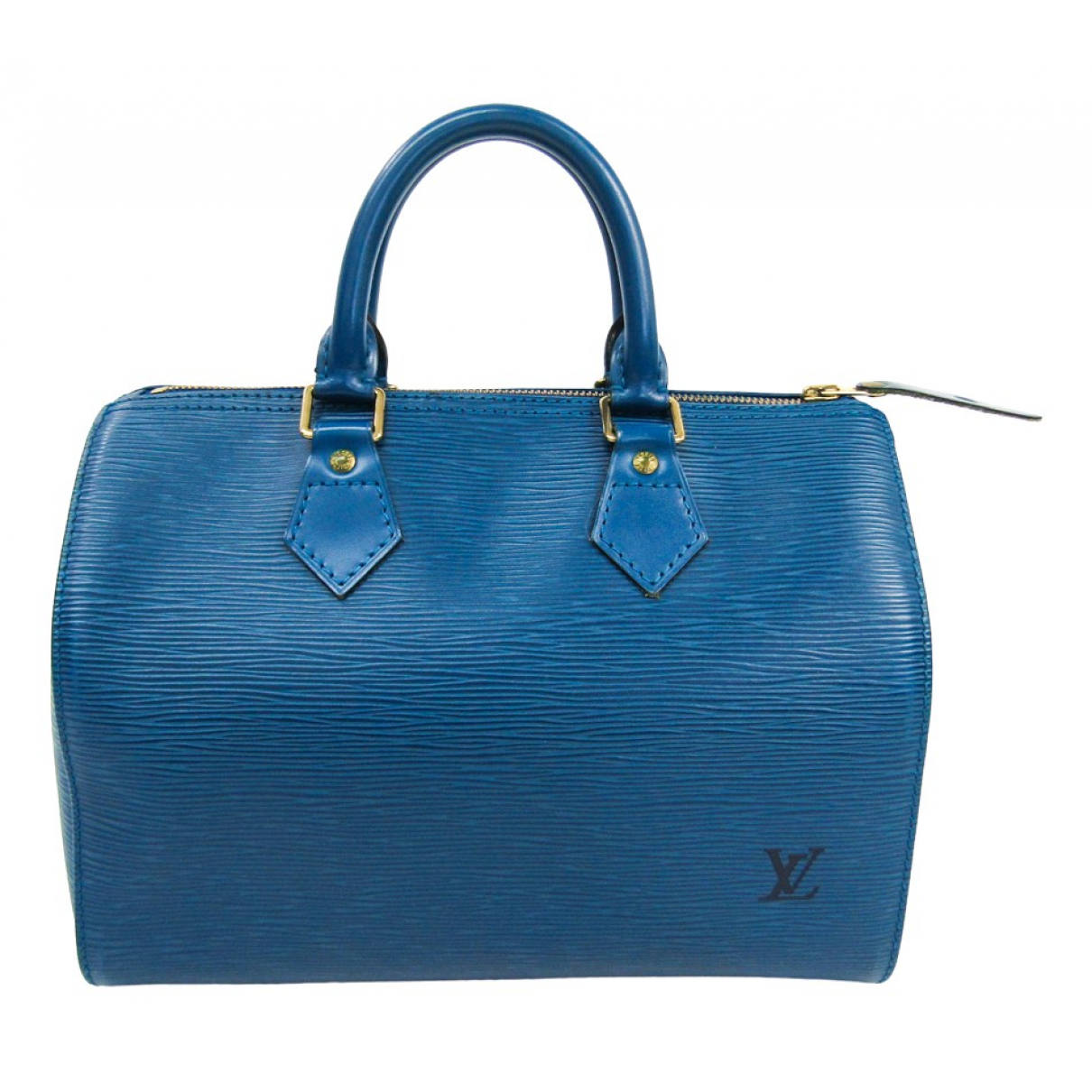 Bolso boston Speedy de Cuero Louis Vuitton