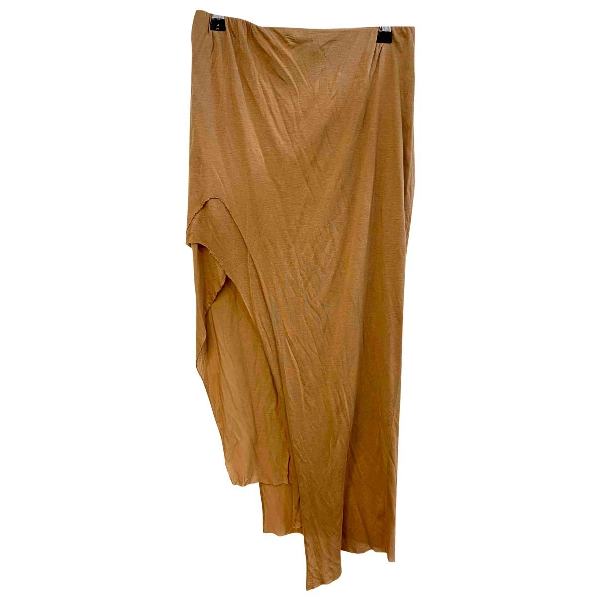 Helmut Lang \N Orange Cotton skirt for Women M International