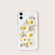 Funda de iphone con estampado de flor