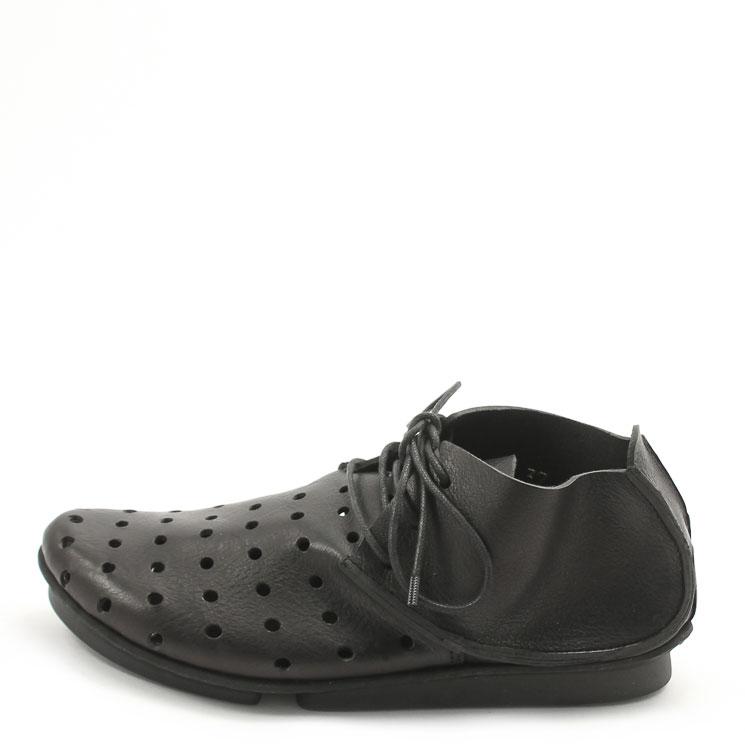 Trippen, Chill f Penna Women's Lace-up Shoes, black Größe 35