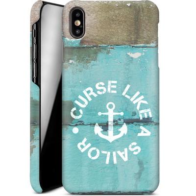 Apple iPhone XS Max Smartphone Huelle - Curse Like A Sailor von Statements