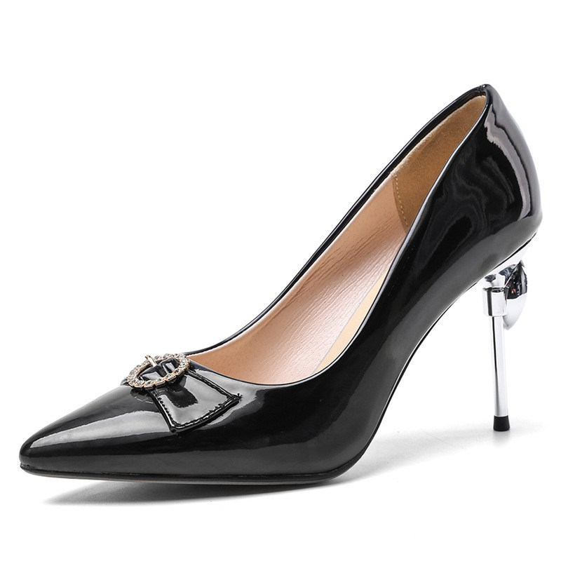 Ericdress Pointed Toe Stiletto Heel Thread Banquet Pumps