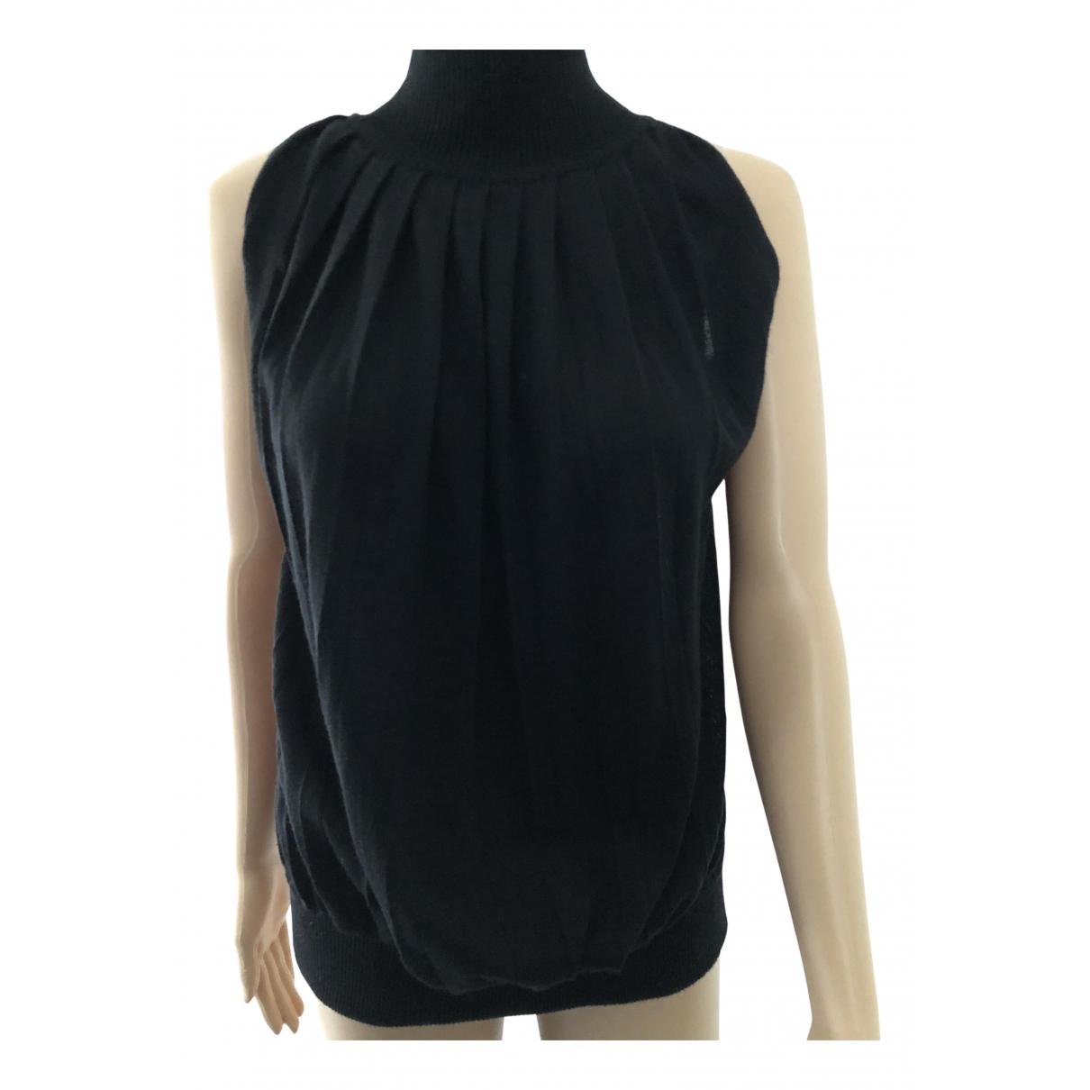 Versace Jean - Top   pour femme en laine - noir