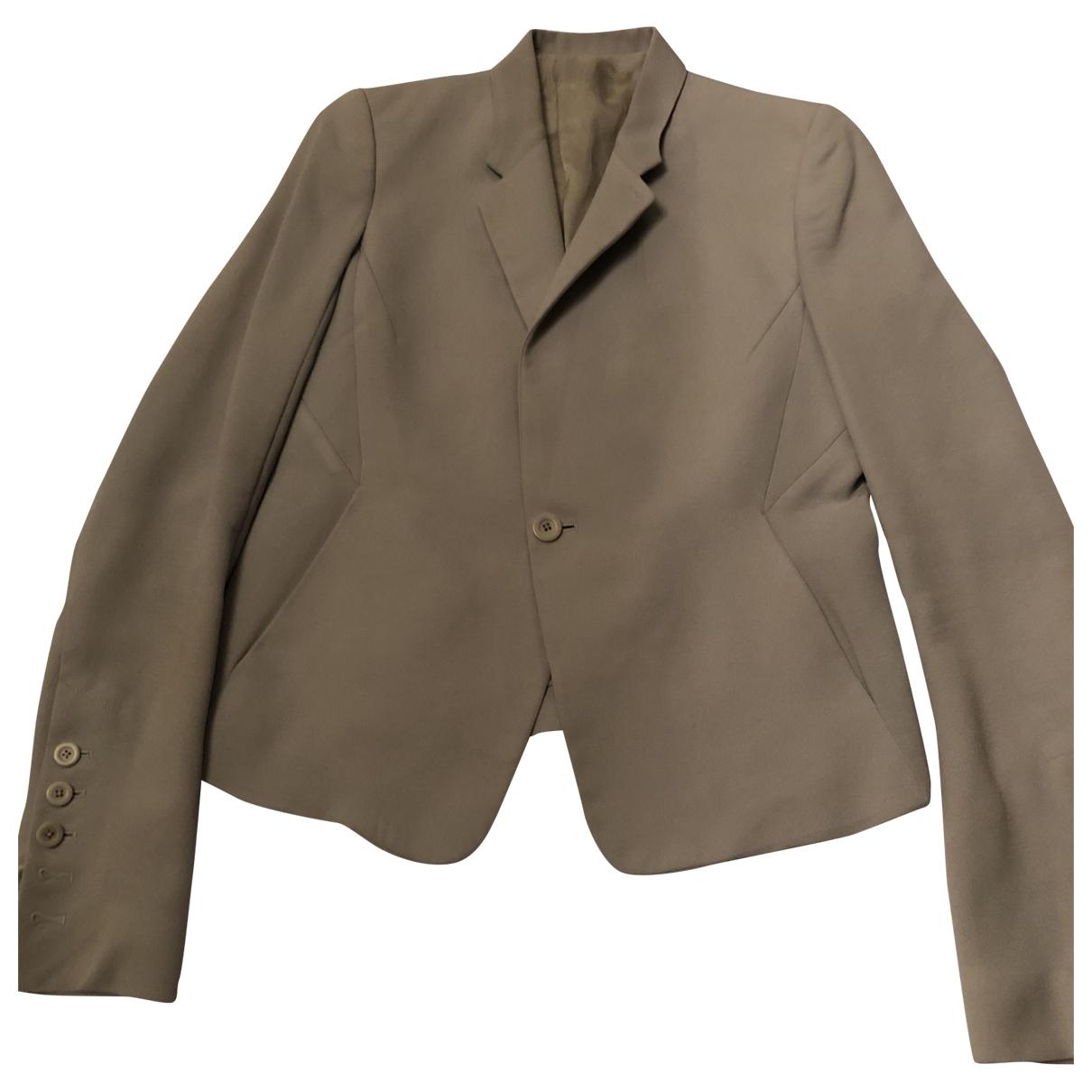 Rick Owens - Veste   pour femme en laine - bleu