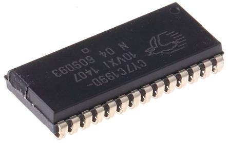 Cypress Semiconductor SRAM, CY7C199D-10VXI- 256kbit (5)
