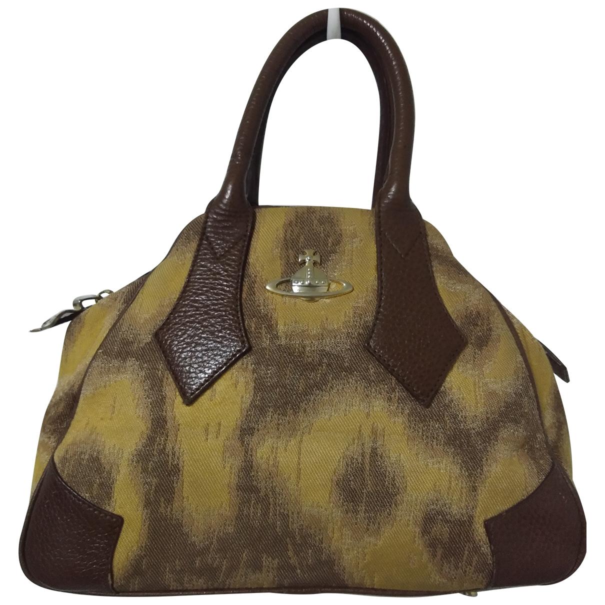 Vivienne Westwood \N Brown Cloth handbag for Women \N