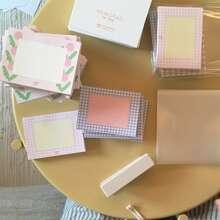 1 Pack zufaelliger Notizblock mit gemischtem Muster