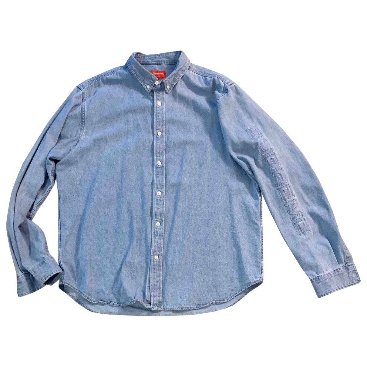 Supreme \N Blue Denim - Jeans Shirts for Men XL International