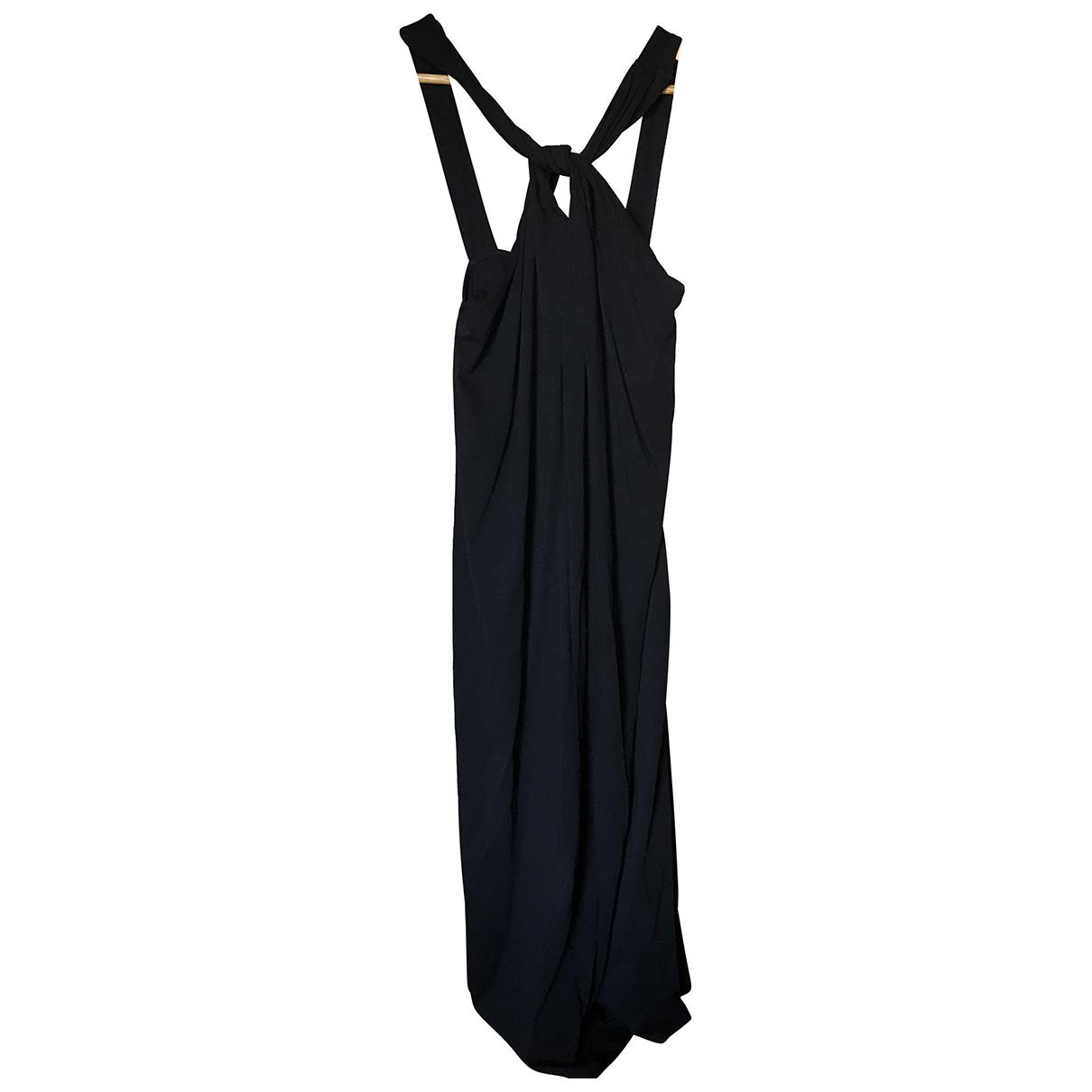 Skin - Robe   pour femme en coton - noir