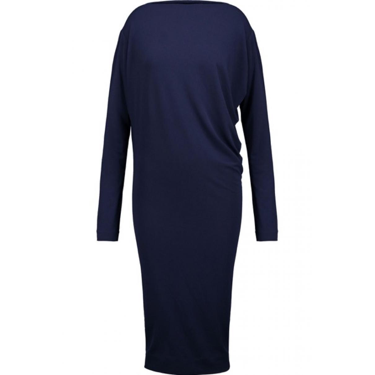 By Malene Birger \N Kleid in  Blau Polyester