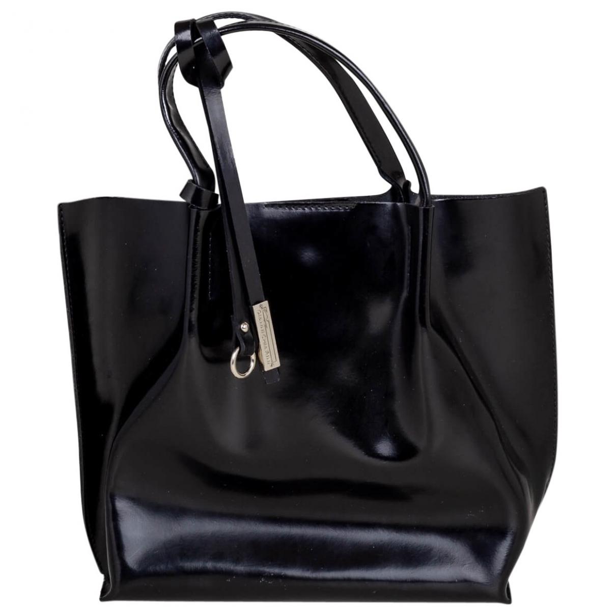 Gianni Chiarini \N Black Patent leather handbag for Women \N