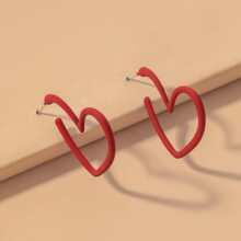 Heart Design Earrings