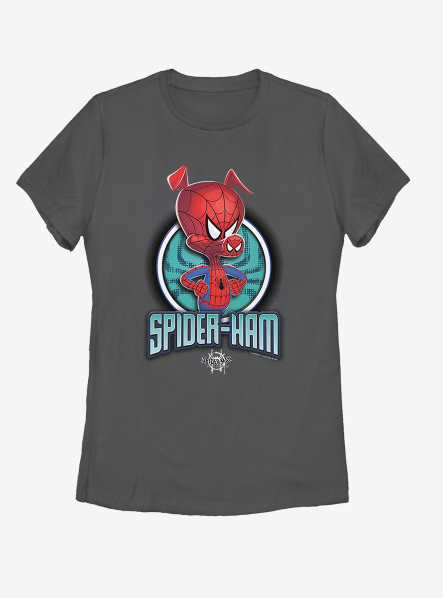 Marvel Spider-Man: Into the Spider-Verse Spider Ham Womens T-Shirt