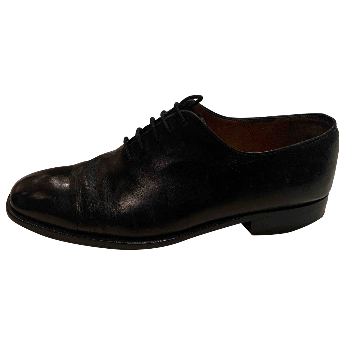 Zilli - Derbies   pour homme en cuir - noir