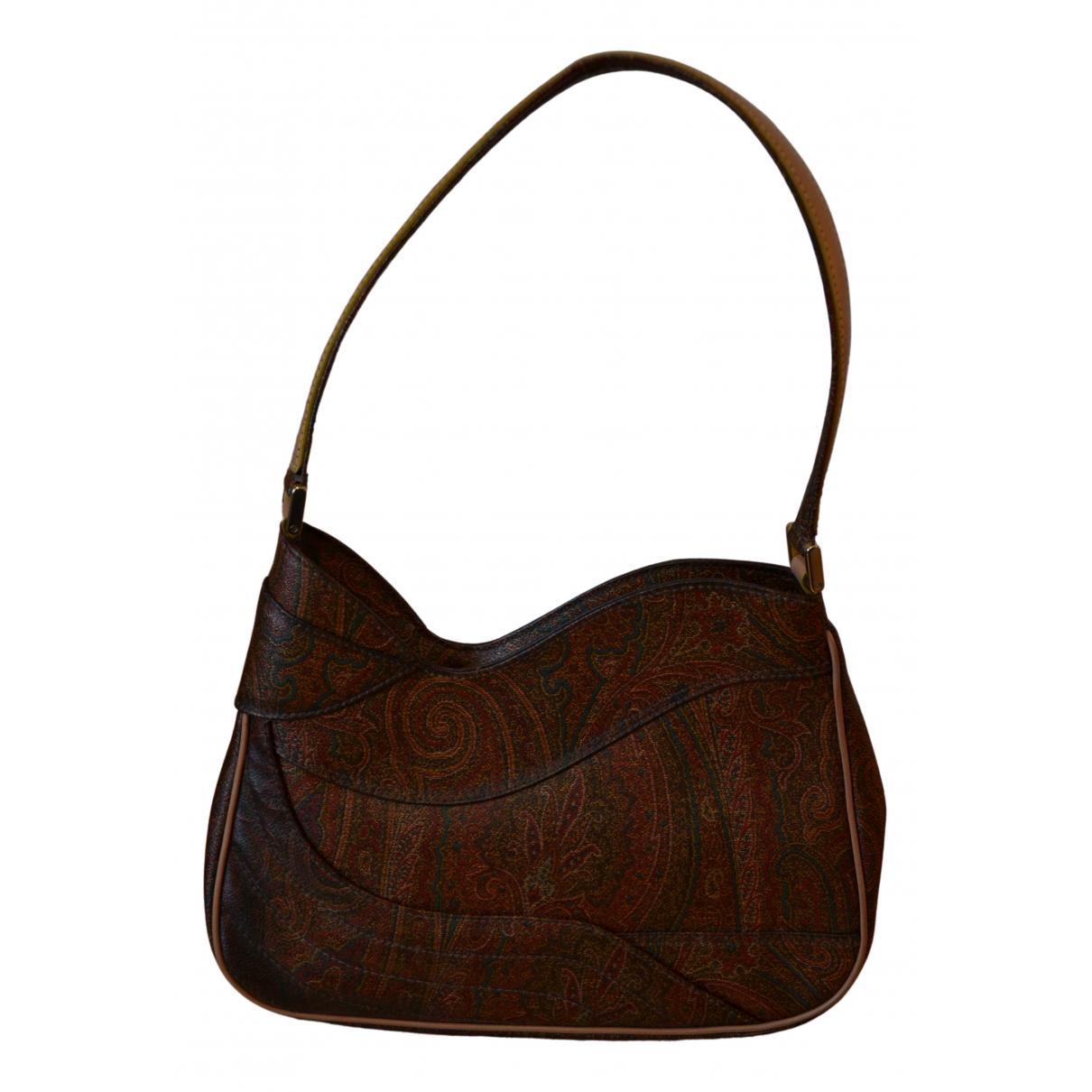 Etro N Brown Leather handbag for Women N