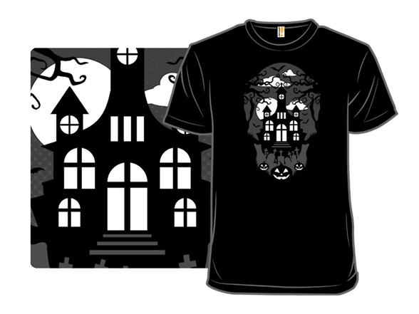 Spooky House T Shirt
