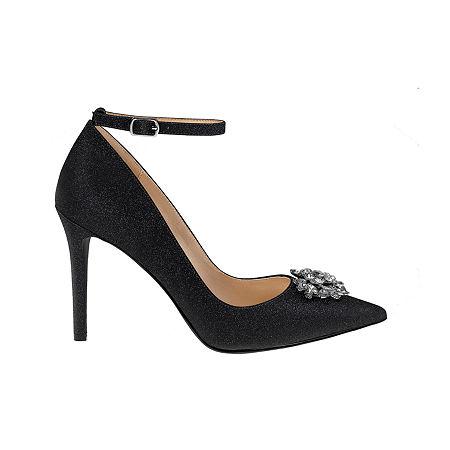 Mark And James By Badgley Mischka Womens Gala Pumps Stiletto Heel, 5 1/2 Medium, Black