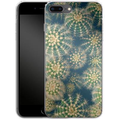 Apple iPhone 8 Plus Silikon Handyhuelle - Kingwood Cactus von Joy StClaire