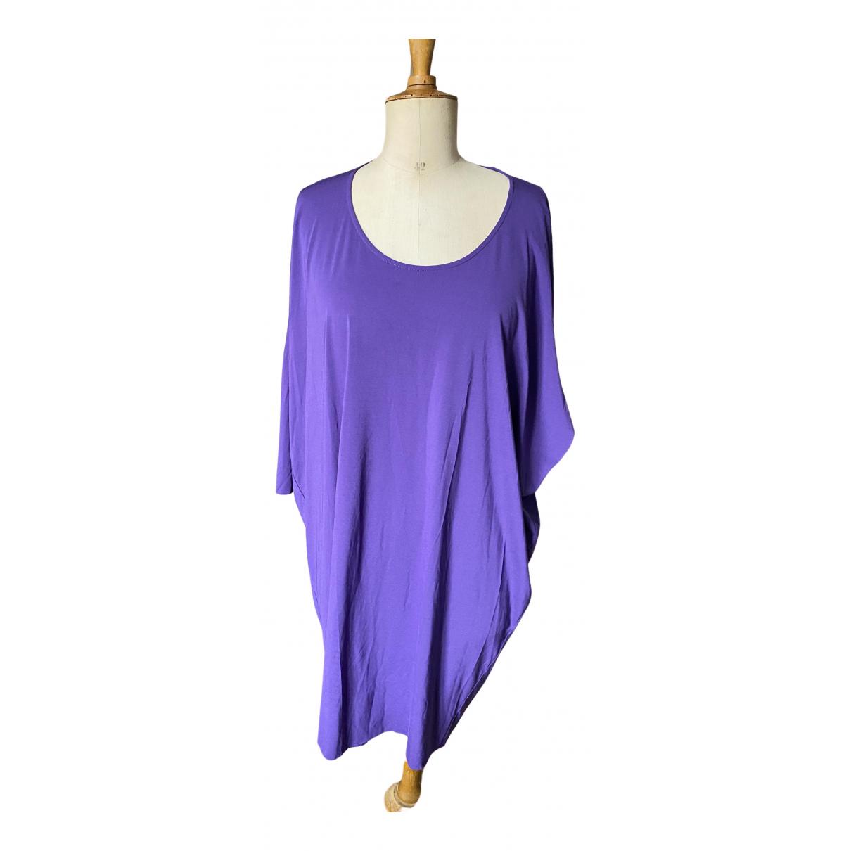 Cos \N Kleid in  Lila Denim - Jeans