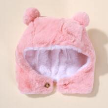 Baby Hut mit Knopfen Dekor