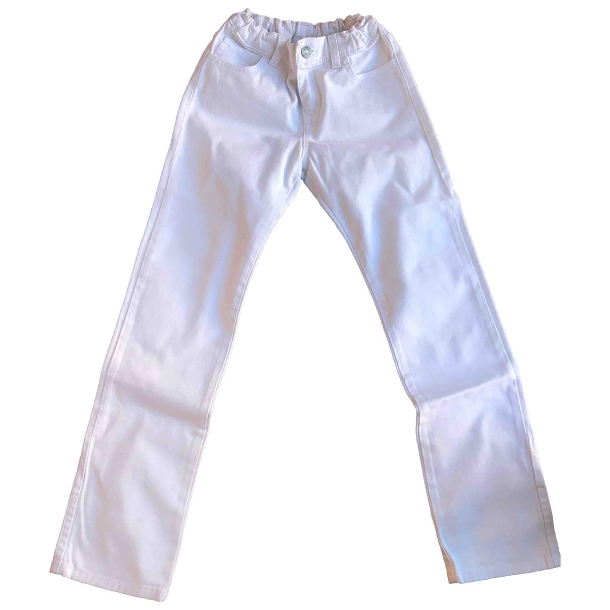 Gucci - Pantalon   pour enfant en coton - blanc