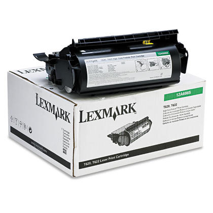 Lexmark 12A6865 Original Black Return Program Toner Cartridge High Yield