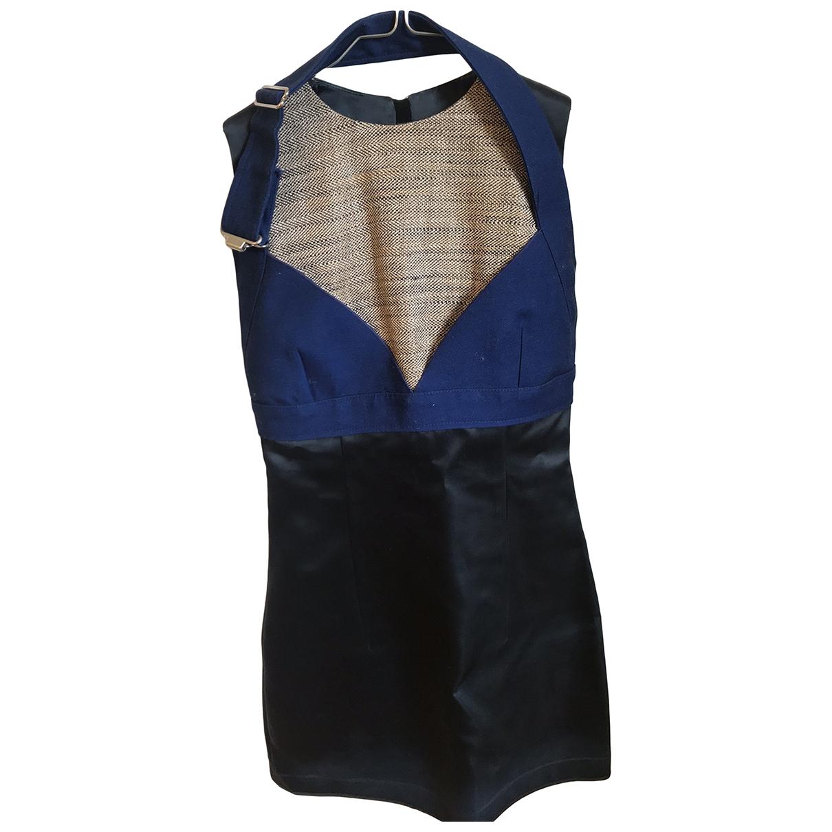 Acne Studios \N Kleid in  Schwarz Polyester