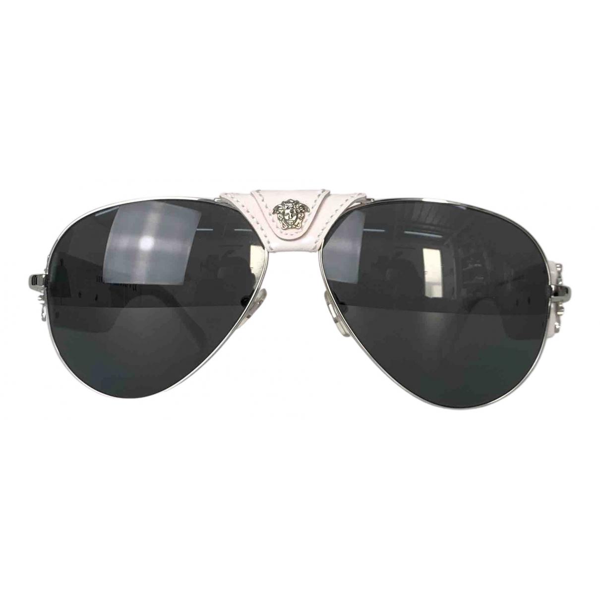 Versace \N Sonnenbrillen in  Weiss Kunststoff